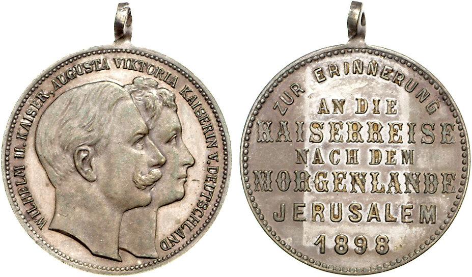 KaiserWilhelmVisitJerusalem1898
