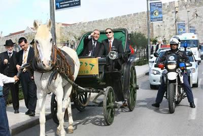 Kaiser Wilhelm's great grandson visits Jerusalem in 2008